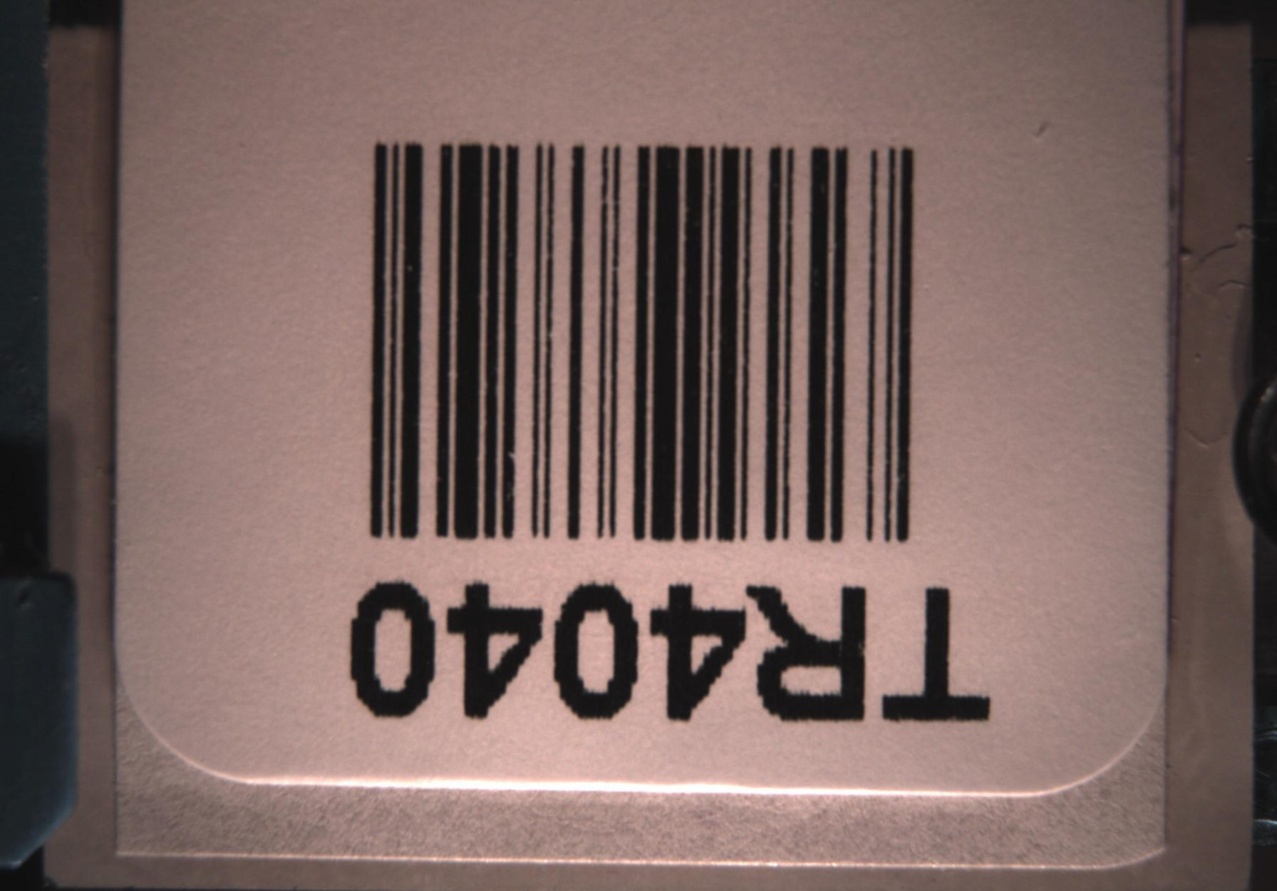 Extracting bar code label and overview image from MRXS slide